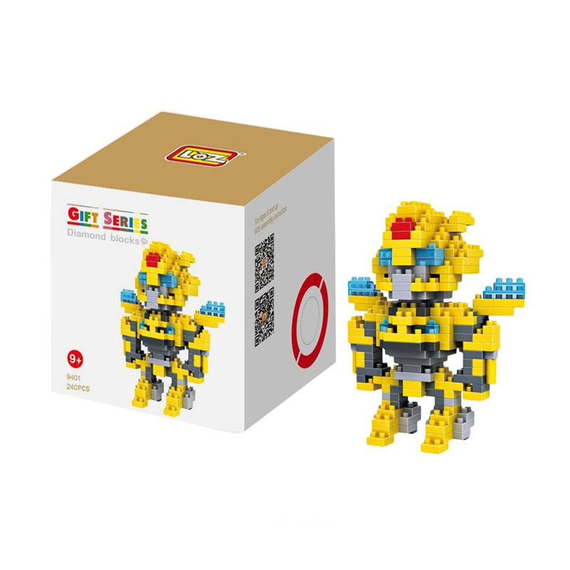 Loz Gift Large Yellow Robot 9401 Mini Blocks