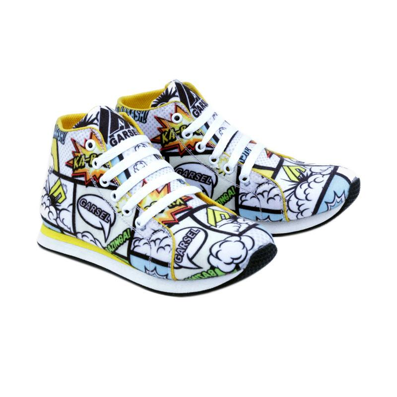 Garsel GJJ 9517 Sneakers Shoes Sepatu Anak Laki - Laki