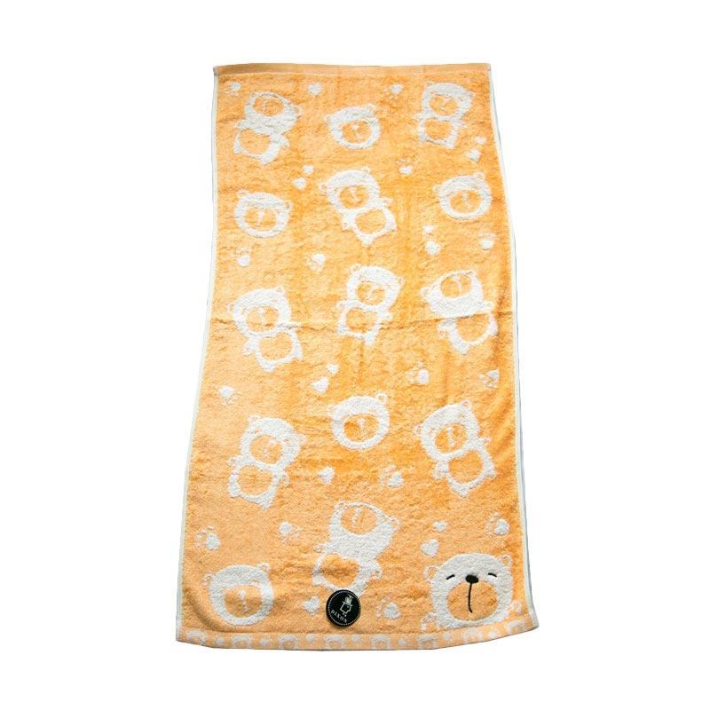 Dixon Smile Bear 7083 Handuk Sport - Orange [35 x 80 cm]