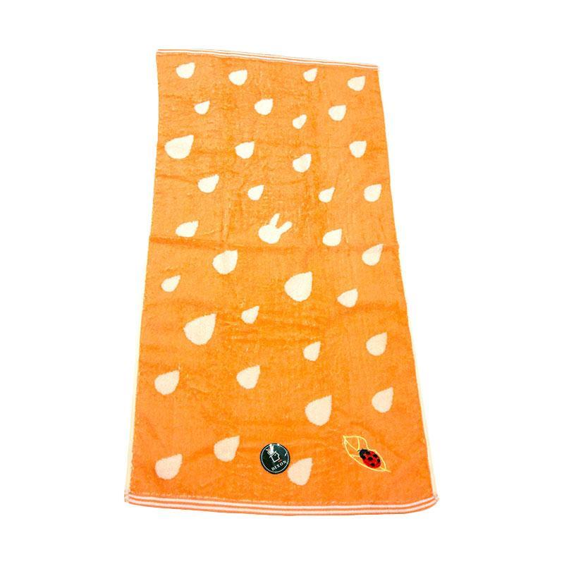 Dixon Lady Bug Embroidery 7086 Handuk Mandi - Orange [60 x 120]
