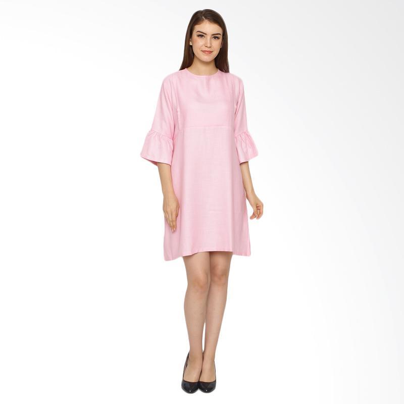 harga Just Mom Raisa RS102 Dress Menyusui - Pink Blibli.com