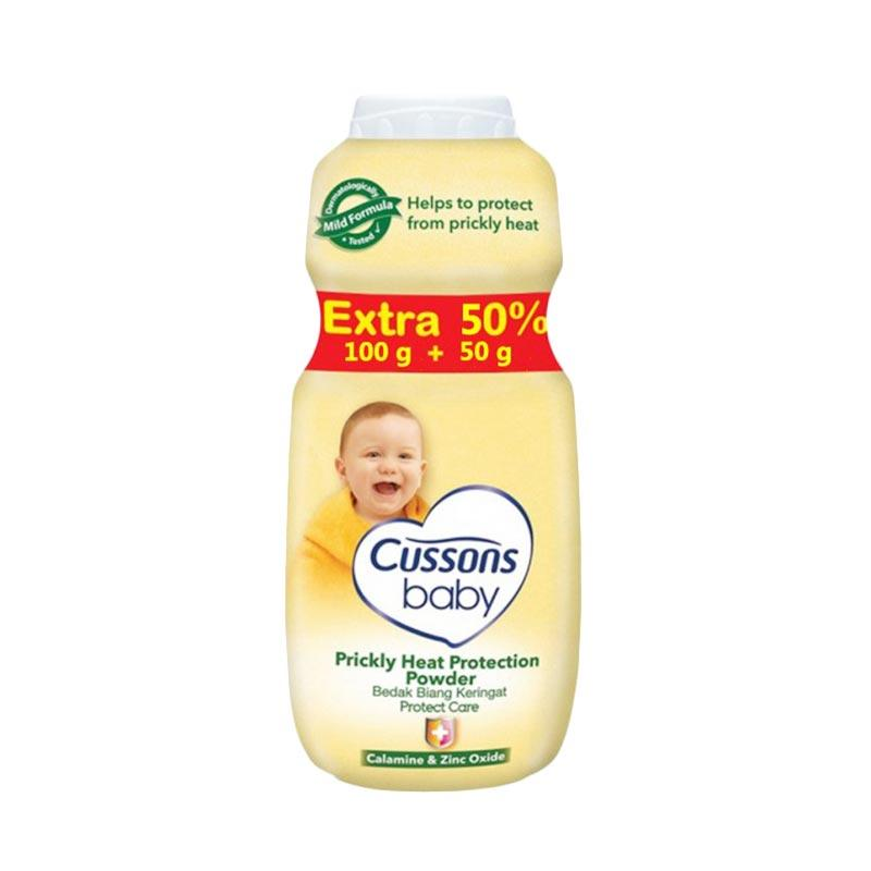 Cussons Baby Powder Prickly Heat Protection [100 + 50 g]