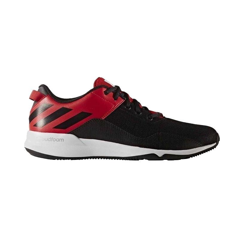 Adidas BY2877 Crazy Train CF M Training Sepatu Olahraga Pria - Black Red