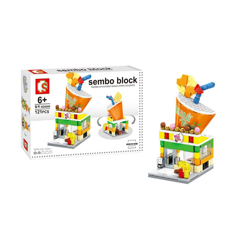 Sembo Block Milk Tea Store Blocks & Stacking Toys
