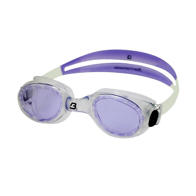 Barracuda FLITE One Piece Frame Anti Fog UV Protection Kacamata Renang - Purple [#8420]