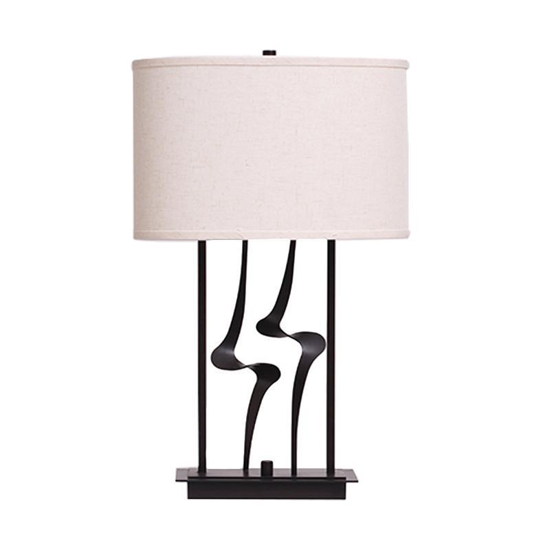 Thema Home 1424 MI Table Lamp Meja Lampu - Black White