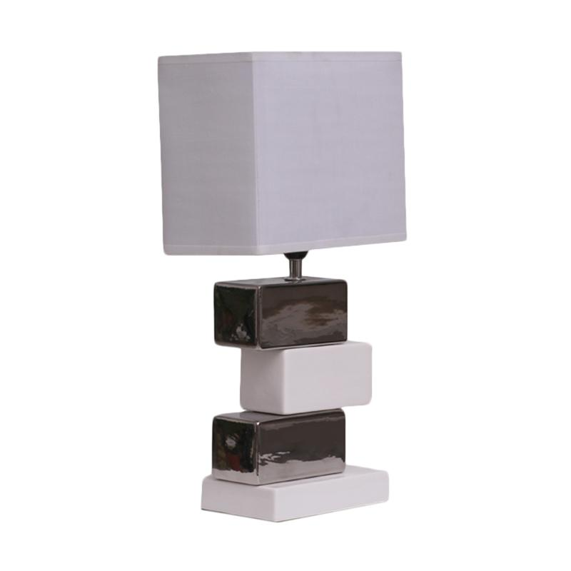 Thema Home 2129 A6 Table Lamp - Black White