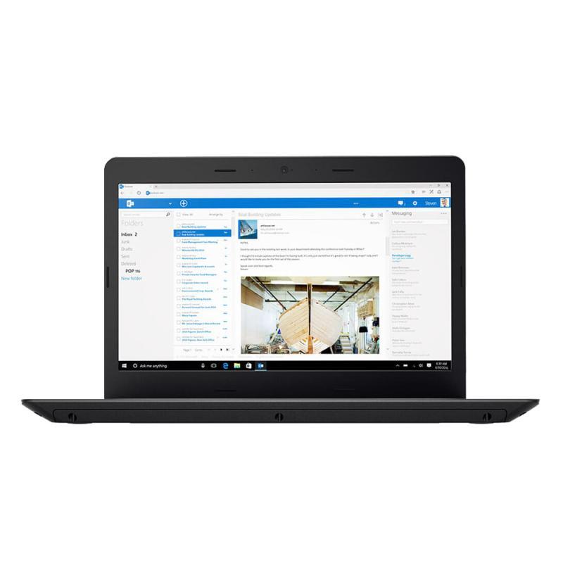 harga Lenovo ThinkPad E470-2FiD Notebook - Hitam [i7-7500U/ 8 GB/ 1 TB/ 14 Inch/ Win 10] Blibli.com