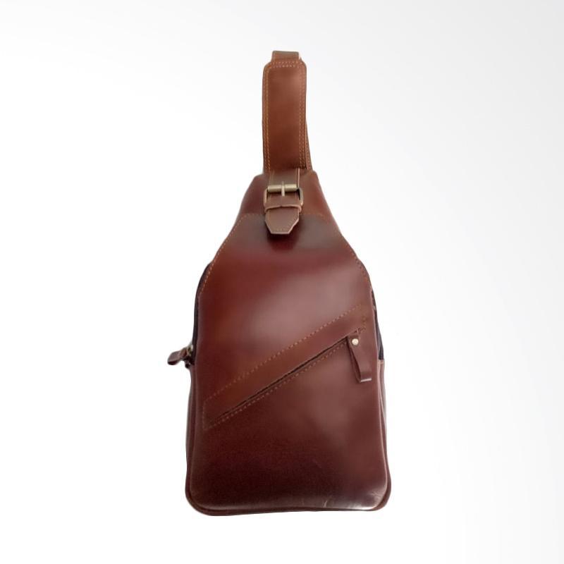 Hunter Design Tas Selempang Pria - Coklat [001123]