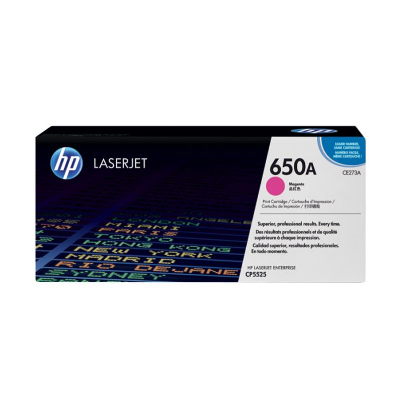 harga HP Toner Cartridge for Hp Color LaserJet CP5525 - Magenta Blibli.com
