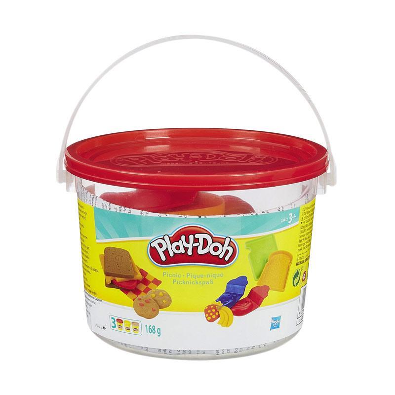 Playdoh Picnic Bucket Mainan Anak