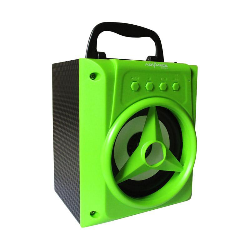 Advance H-14 Jinjing Xtra Power Sound Speaker Portable - Hijau