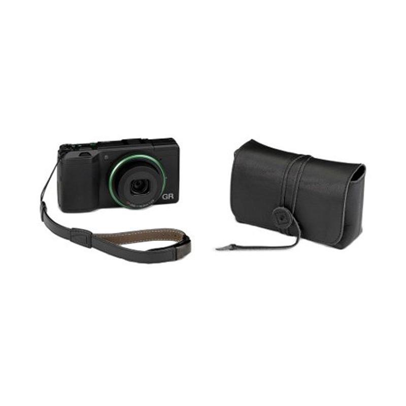 Ricoh GR II Urban Leather Set Kamera Pocket - Black