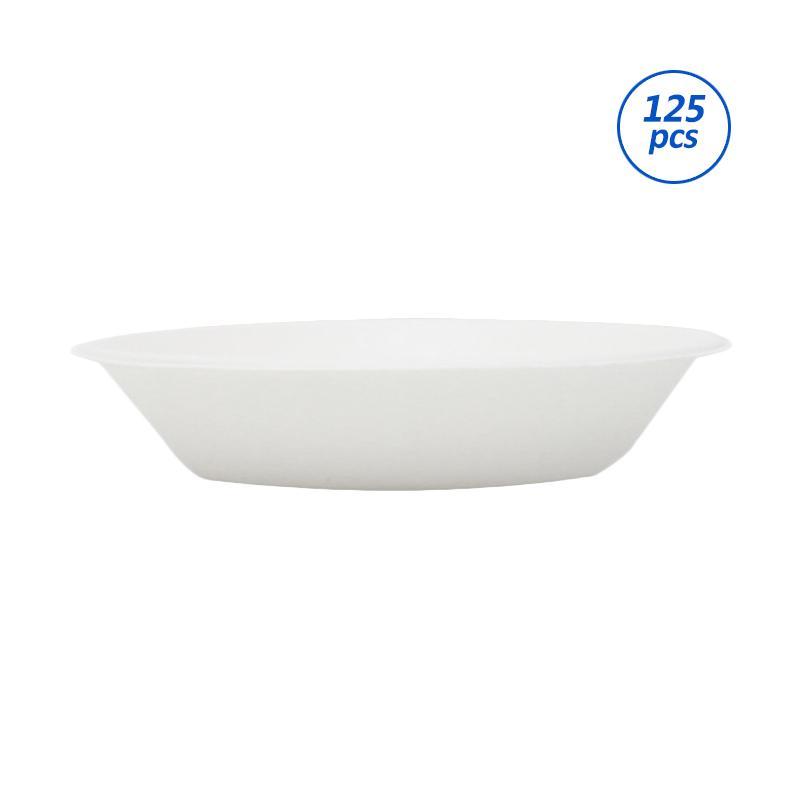 Avani Bagasse Food Bowl Perangkat Saji [7 inch/125 pcs]