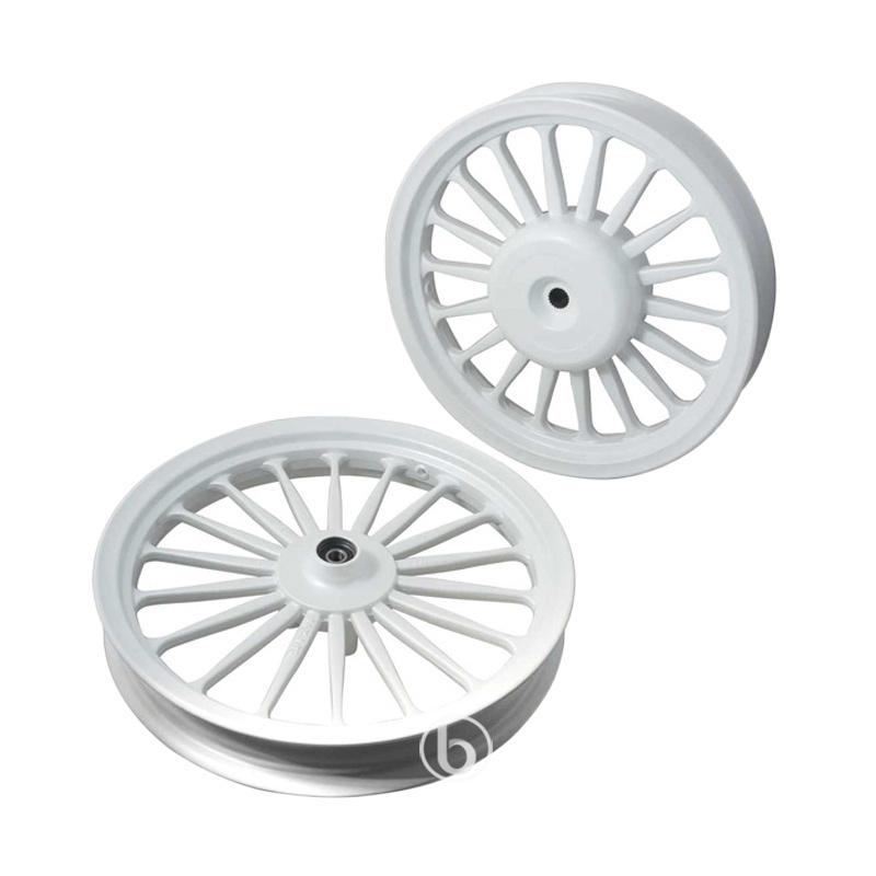 harga Velg Rossi Galaxy Lebar Palang 18 Velg Racing for Beat Karbu - White [185/215 - 14] Blibli.com