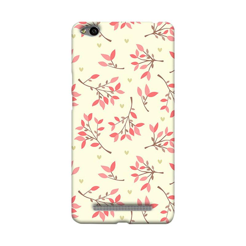 Premiumcaseid Cute Floral Seamless Shabby Cover Hardcase Casing for Xiaomi Redmi 3