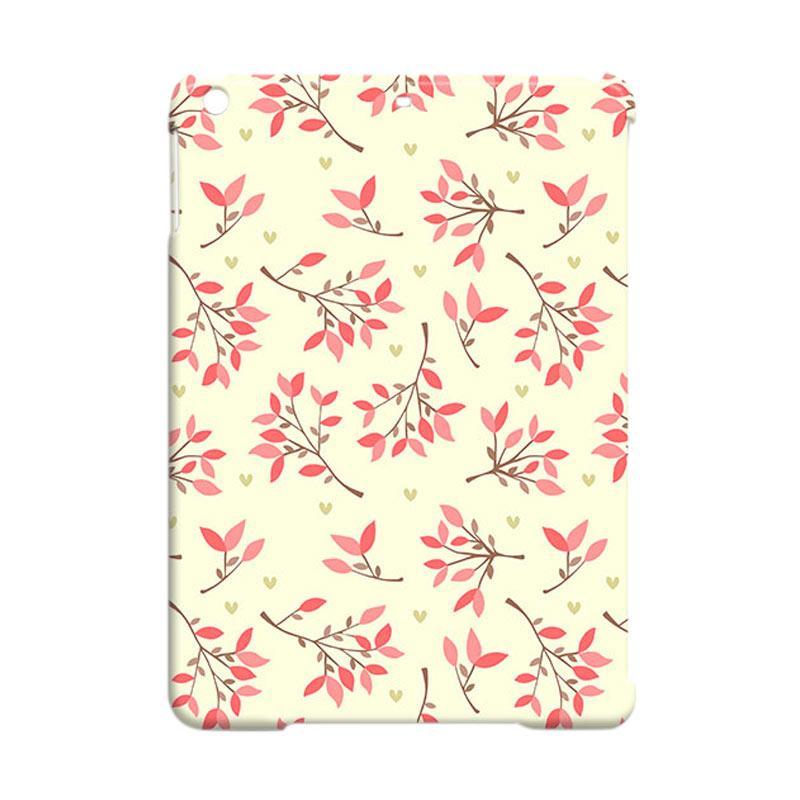 Premiumcaseid Cute Floral Seamless Shabby Cover Hardcase Casing for iPad Air