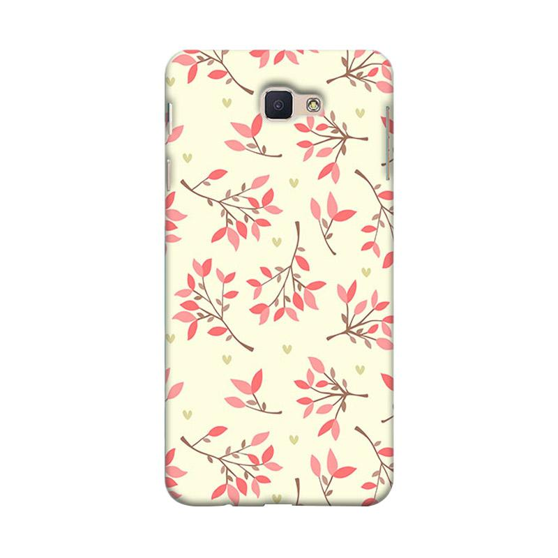 Premiumcaseid Cute Floral Seamless Shabby Hardcase Casing for Samsung Galaxy J7 Prime