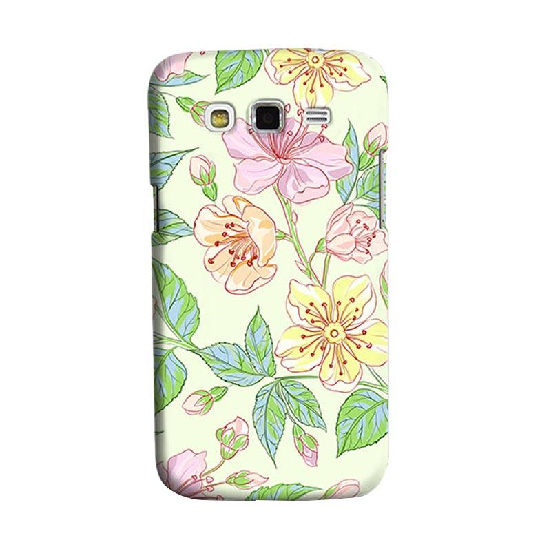 Premiumcaseid Beautiful Flower Wallpaper Cover Hardcase Casing for Samsung Galaxy Grand 2