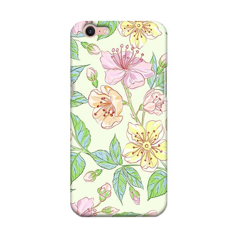 Premiumcaseid Beautiful Flower Wallpaper Hardcase Casing for Oppo A39 or A57