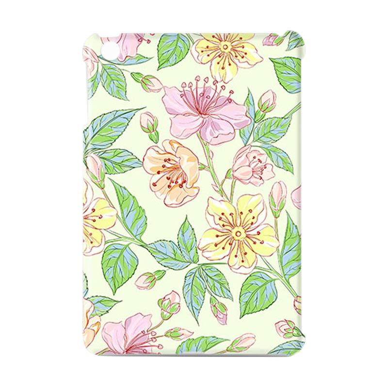 Premiumcaseid Beautiful Flower Hardcase Casing for iPad Mini