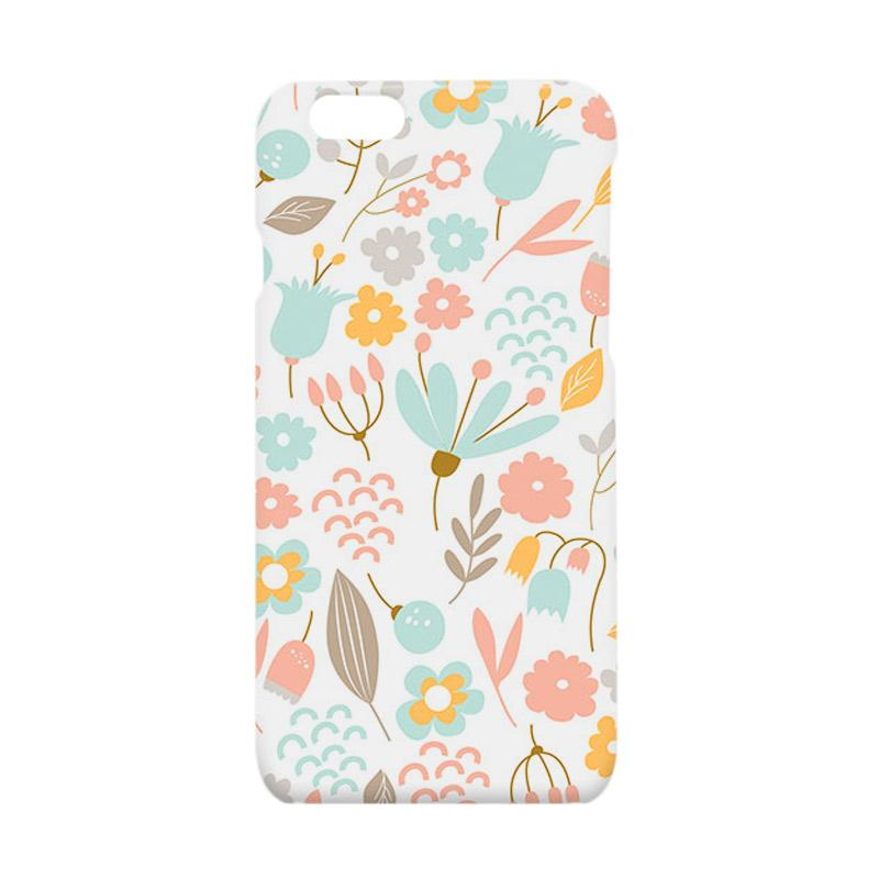 Premiumcaseid Cute Pastel Shabby Chic Floral Hardcase Casing for iPhone 6 or  6s
