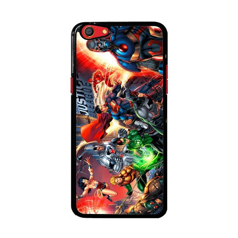 Flazzstore Justice League Of America Jla Superheroes Dc Comics Z0407 Custom Casing for Oppo F3