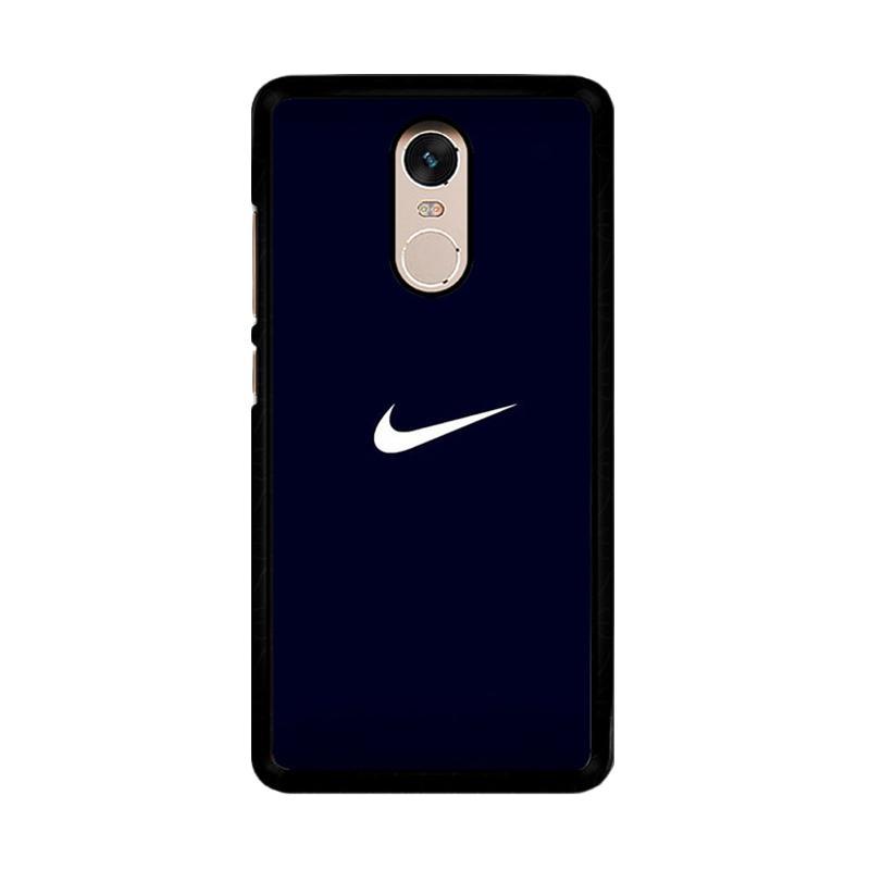 Flazzstore Nike Logo O0069 Custom Casing for Xiaomi Redmi Note 4 or Note 4X Snapdragon Mediatek