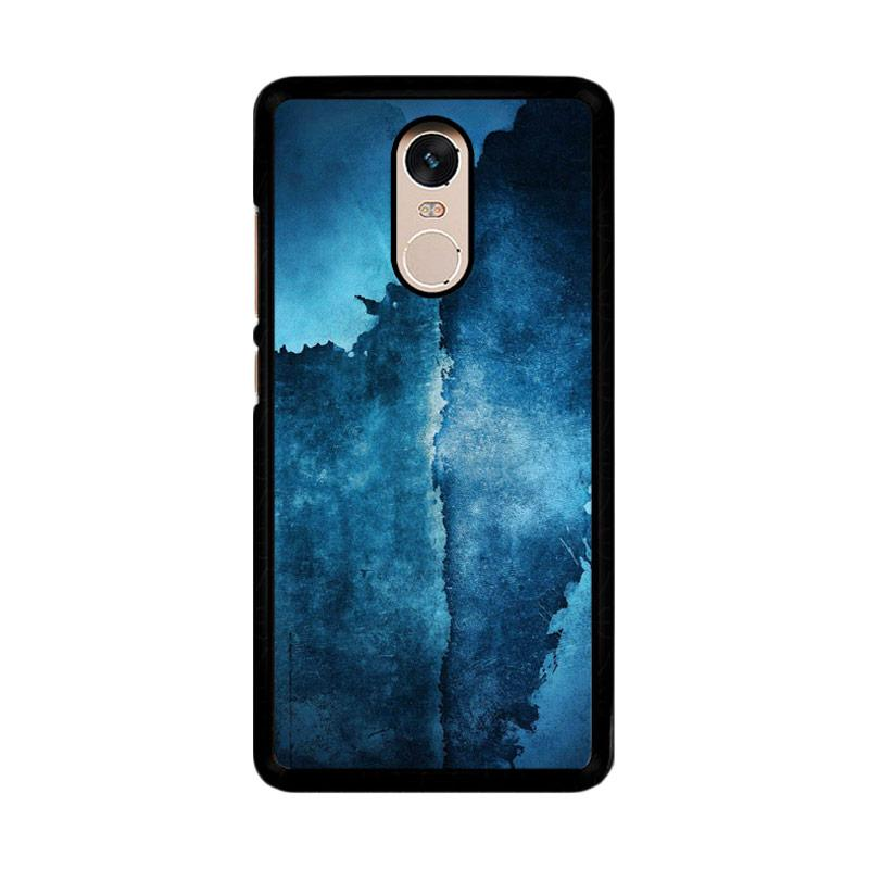 Flazzstore Abstrak Wall O0241 Custom Casing for Xiaomi Redmi Note 4 or Note 4X Snapdragon Mediatek