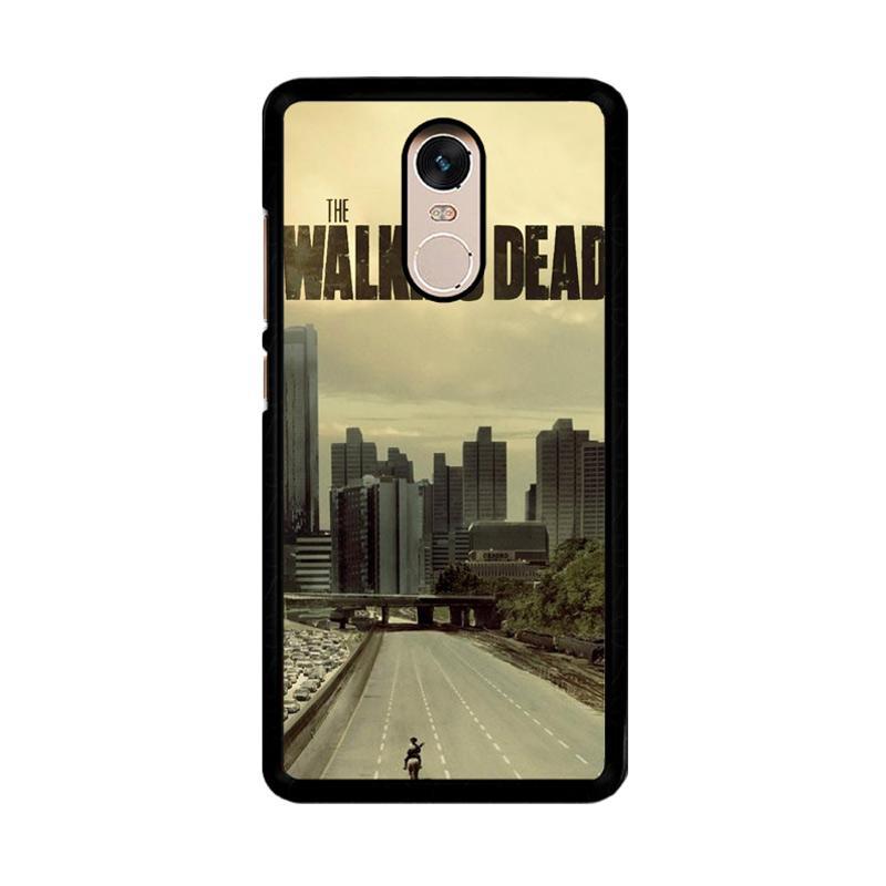 Flazzstore Walking Dead Daryl Dixon F0243 Custom Casing for Xiaomi Redmi Note 4 or Note 4X Snapdragon Mediatek