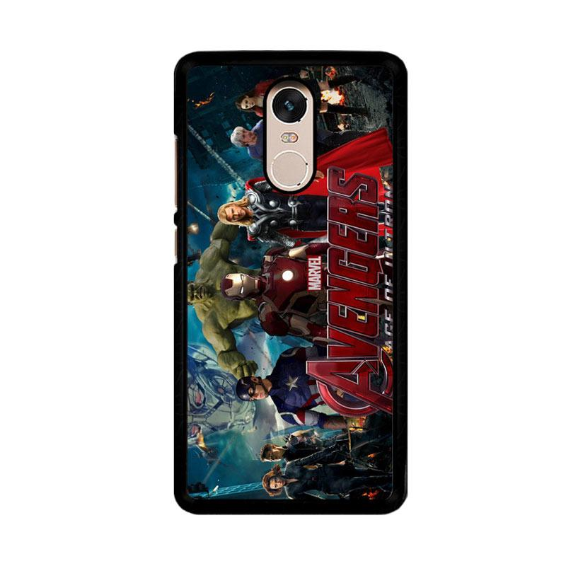 Flazzstore Avenger Age Of Ultron 1 F0328 Custom Casing for Xiaomi Redmi Note 4 or Note 4X Snapdragon Mediatek