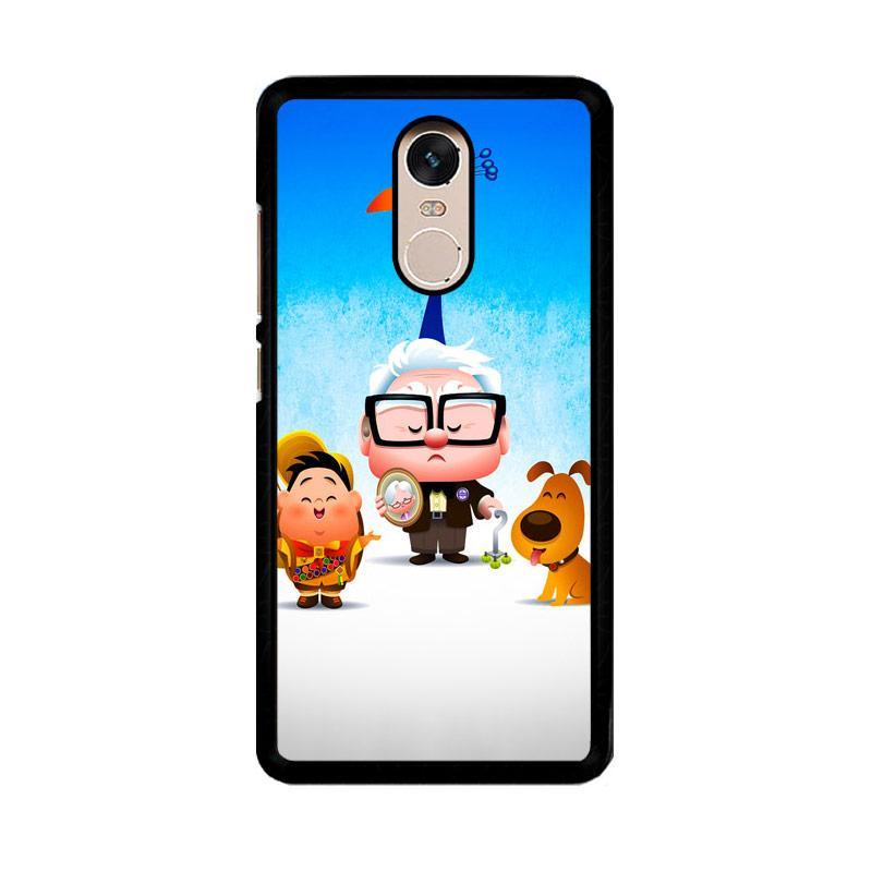 Flazzstore Disney Pixar Up F0401 Custom Casing for Xiaomi Redmi Note 4 or Note 4X Snapdragon Mediatek