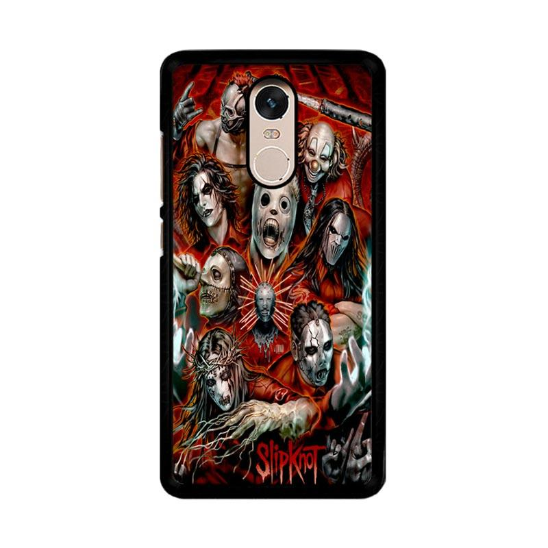 Flazzstore Slipknot Z0403 Custom Casing for Xiaomi Redmi Note 4 or Note 4X Snapdragon Mediatek