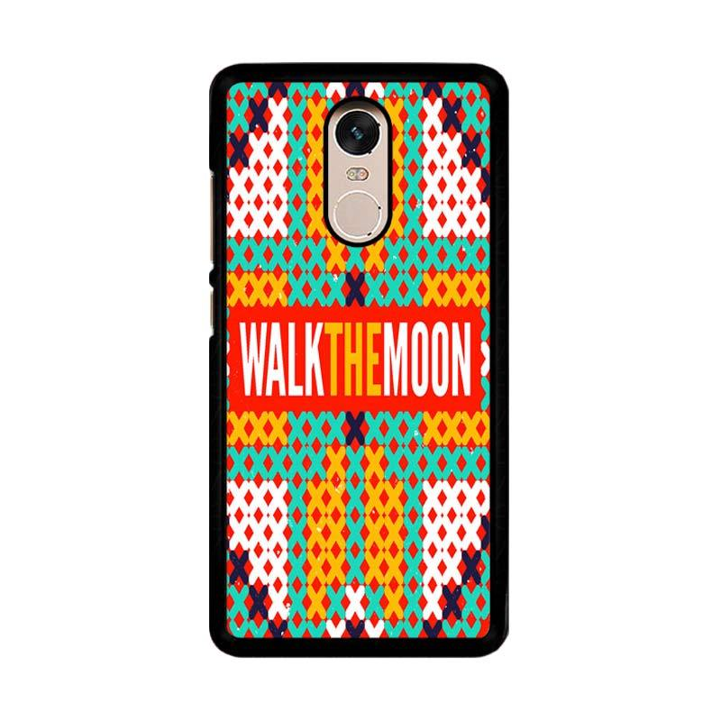 Flazzstore Walk The Moon Band Logo Z0448 Custom Casing for Xiaomi Redmi Note 4 or Note 4X Snapdragon Mediatek