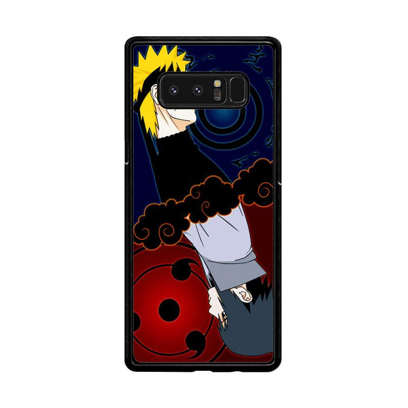 Flazzstore Naruto And Sasuke Z0739 Custom Casing for Samsung Galaxy Note8