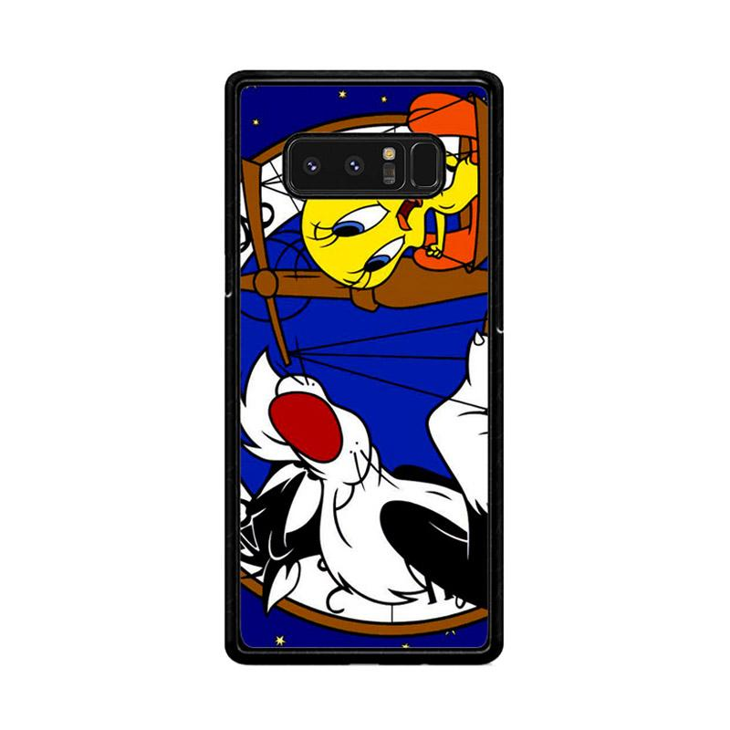 Flazzstore Tweety Bird And Sylvester Z0761 Custom Casing for Samsung Galaxy Note8
