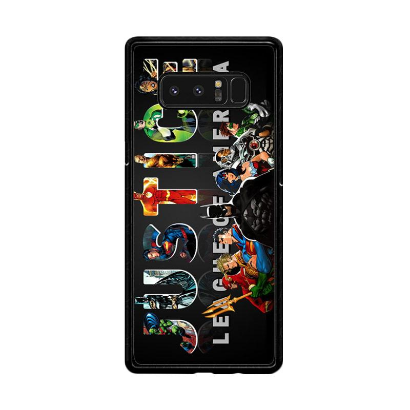 Flazzstore Justice League Z0031 Custom Casing for Samsung Galaxy Note8