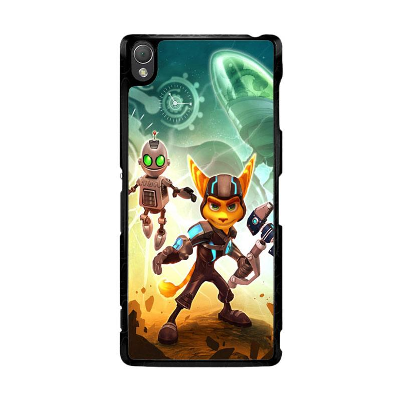 Flazzstore Ratchet And Clank Z1150 Custom Casing for Sony Xperia Z3