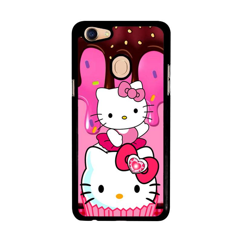 Flazzstore Hello Kitty Cute Z3336 Custom Casing for Oppo F5