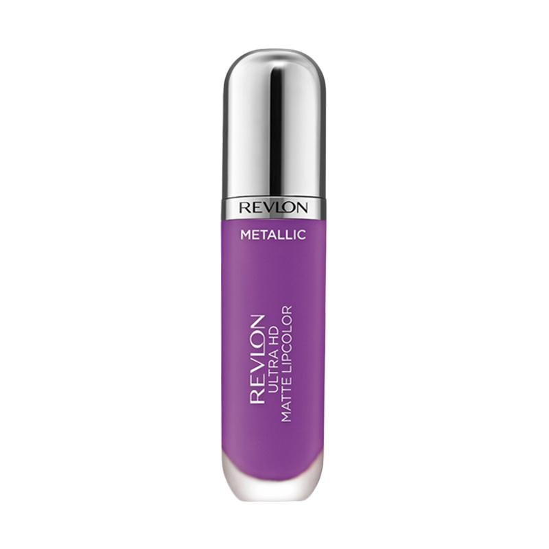 Revlon Ultra HD Matte Lip Color in Mettalic - Dazzle 710