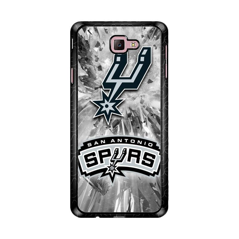 Flazzstore San Antonio Spurs Z3226 Custom Casing for Samsung Galaxy J7 Prime