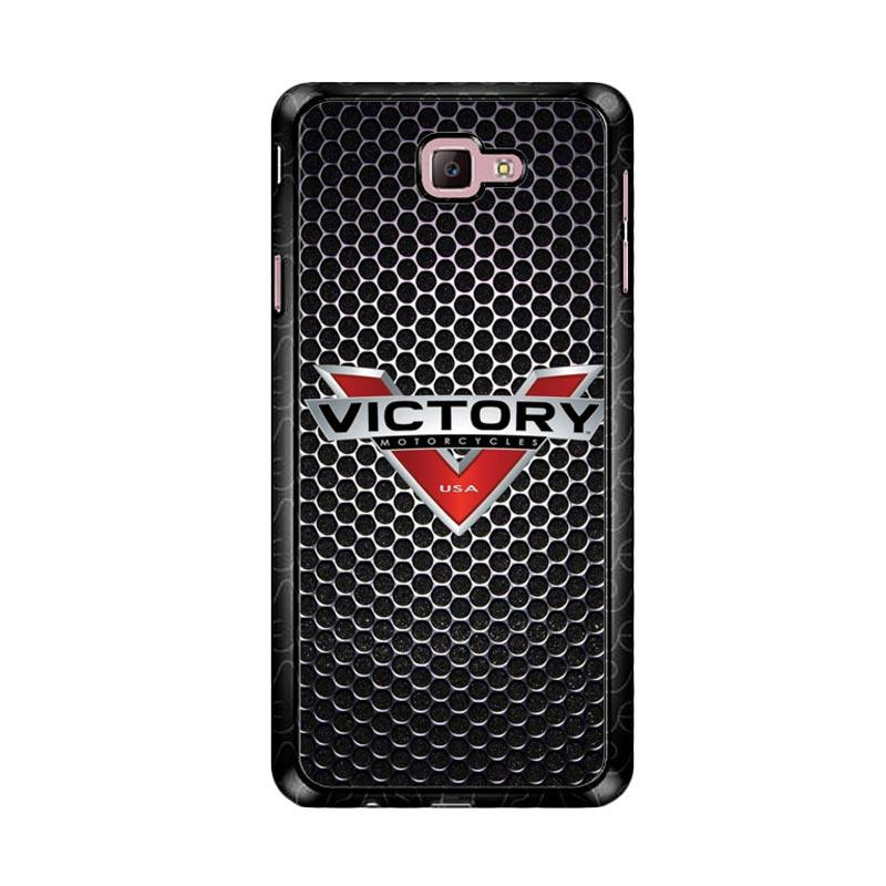 Flazzstore Victory Motorcycle Logo Z3877 Custom Casing for Samsung Galaxy J7 Prime