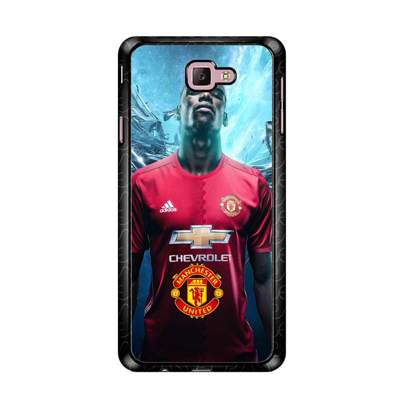 Flazzstore Paul Pogba Manchester United  Z3967 Custom Casing for Samsung Galaxy J7 Prime