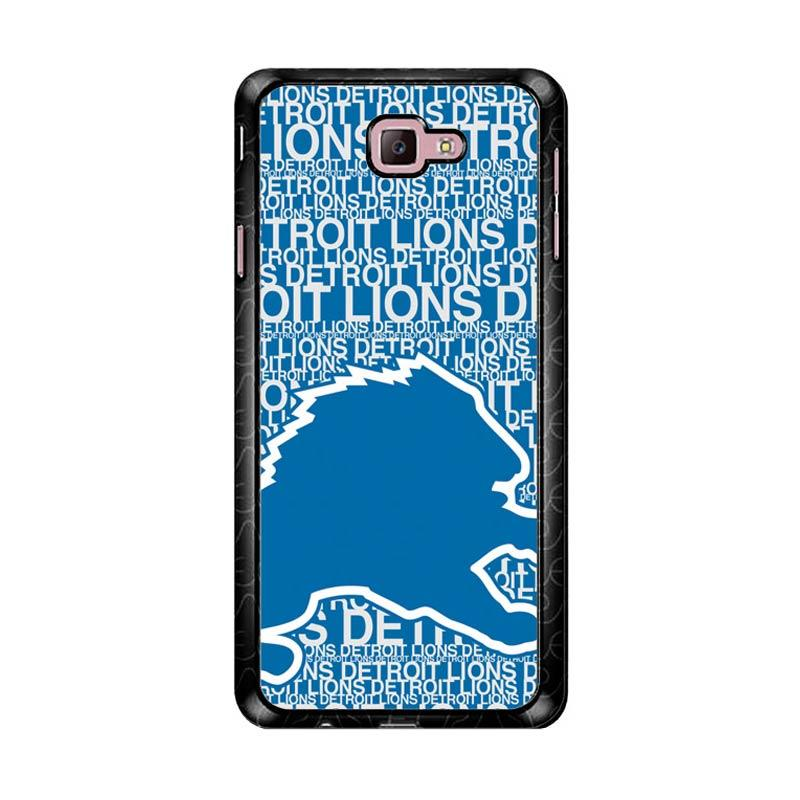 Flazzstore Nfl Detroit Lions Z4139 Custom Casing for Samsung Galaxy J7 Prime
