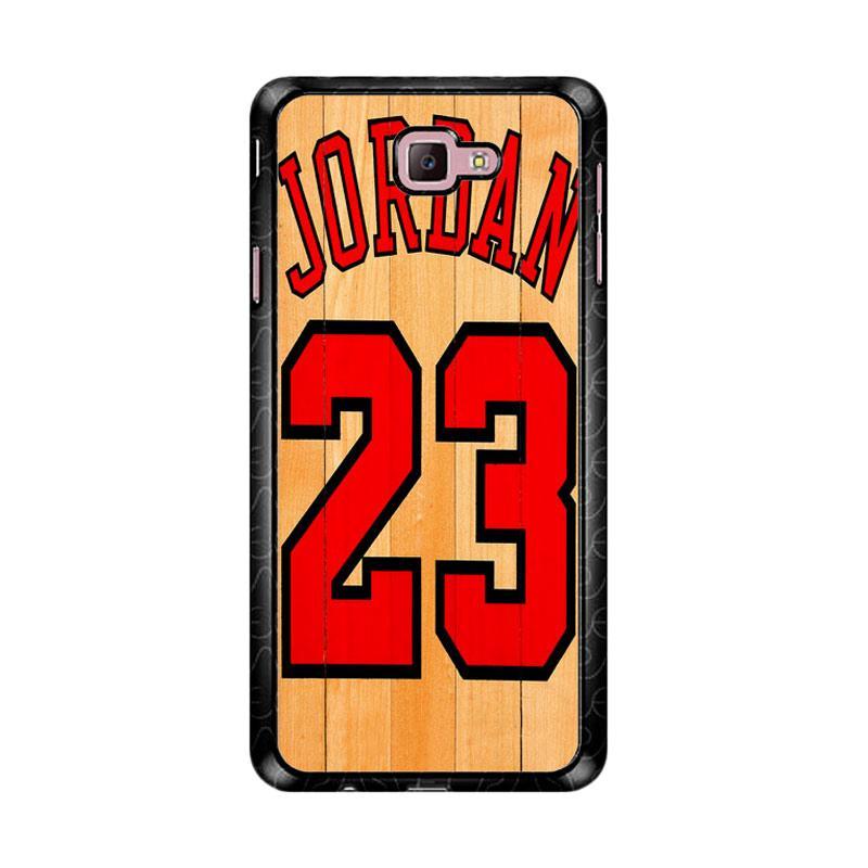 Flazzstore Michael Jordan 23 Wood Z4258 Custom Casing for Samsung Galaxy J7 Prime