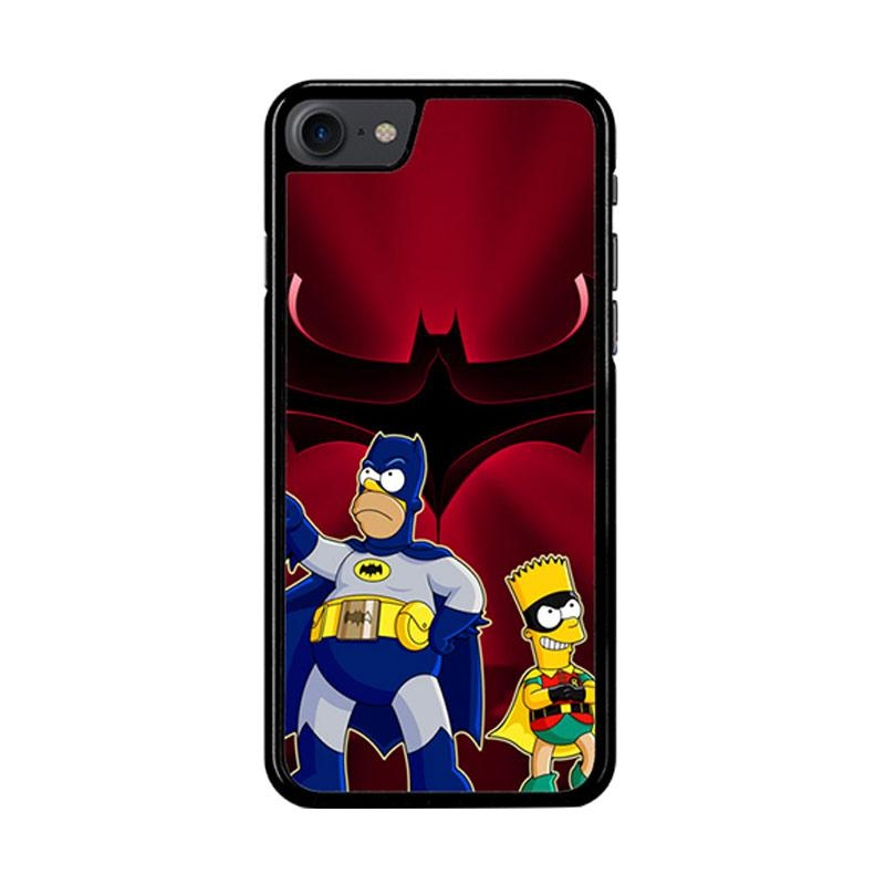 Flazzstore The Simpsons Batman Robin Z3321 Custom Casing for iPhone 7 or 8