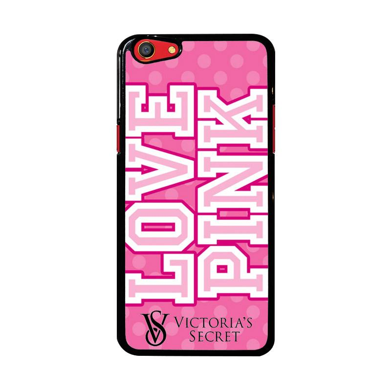 Flazzstore Love Pink Victoria Secret Z3971 Custom Casing for Oppo F3