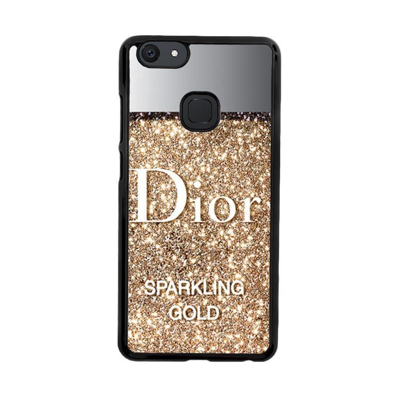 Flazzstore Dior Gold Sparkling Z4271 Custom Casing for Vivo V7 Plus