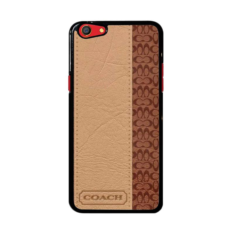Flazzstore Coach Brown Z4833 Custom Casing for Oppo F3