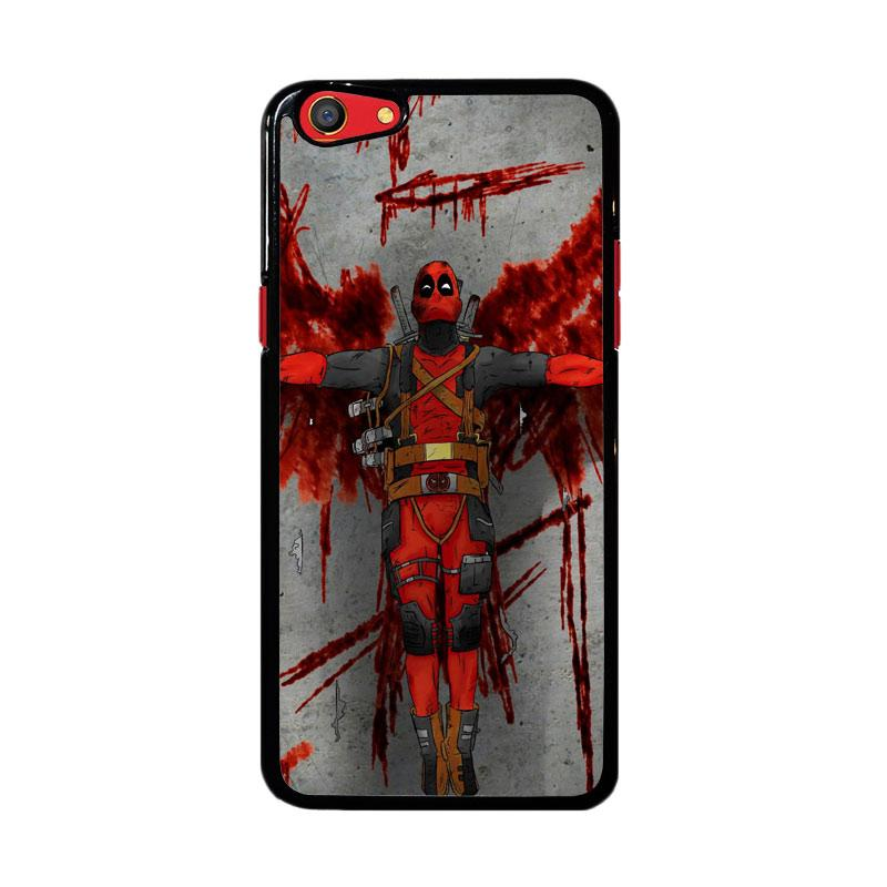 Flazzstore Deadpool Movie Cartoon Z5130 Custom Casing for Oppo F3